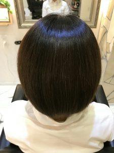 香川美容室ノンアイロン縮毛矯正のアフター