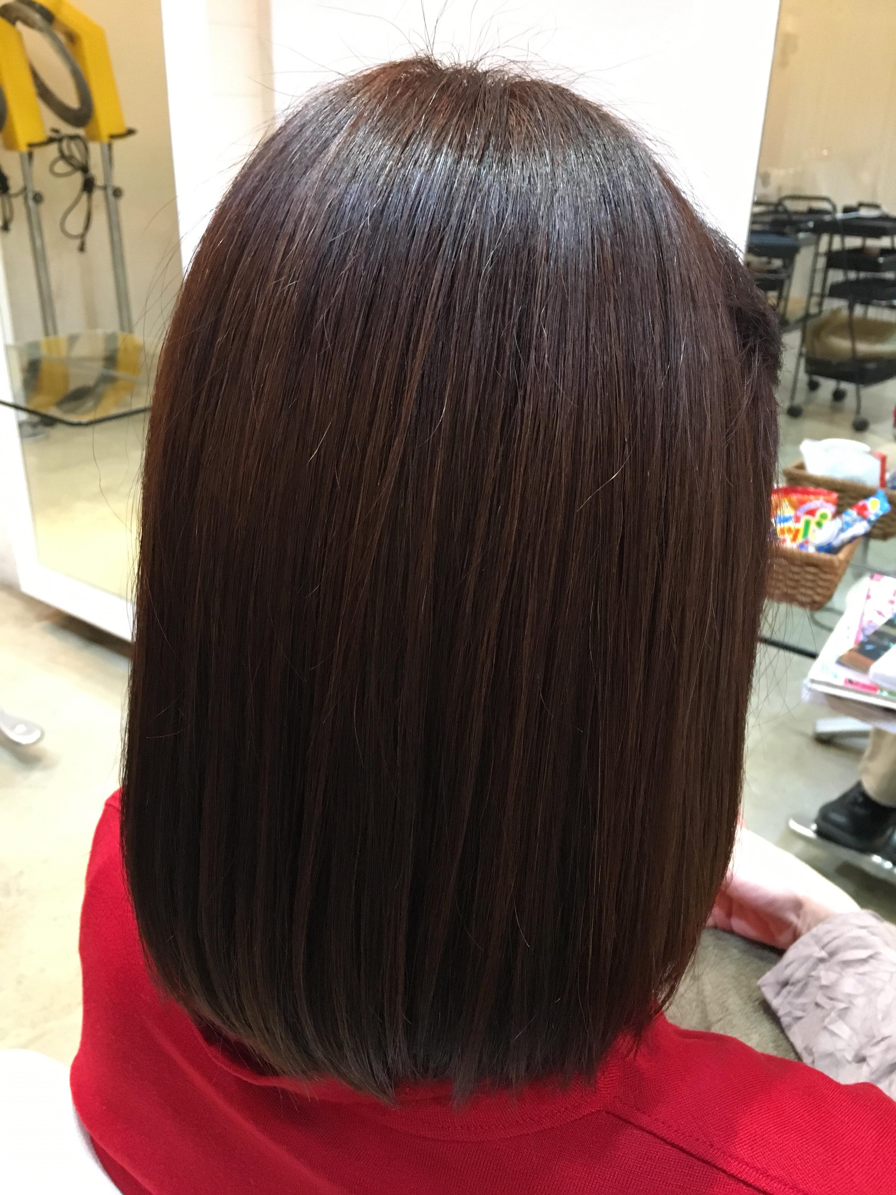 名古屋、美容室、弱酸性縮毛矯正、ノンアイロン、pim