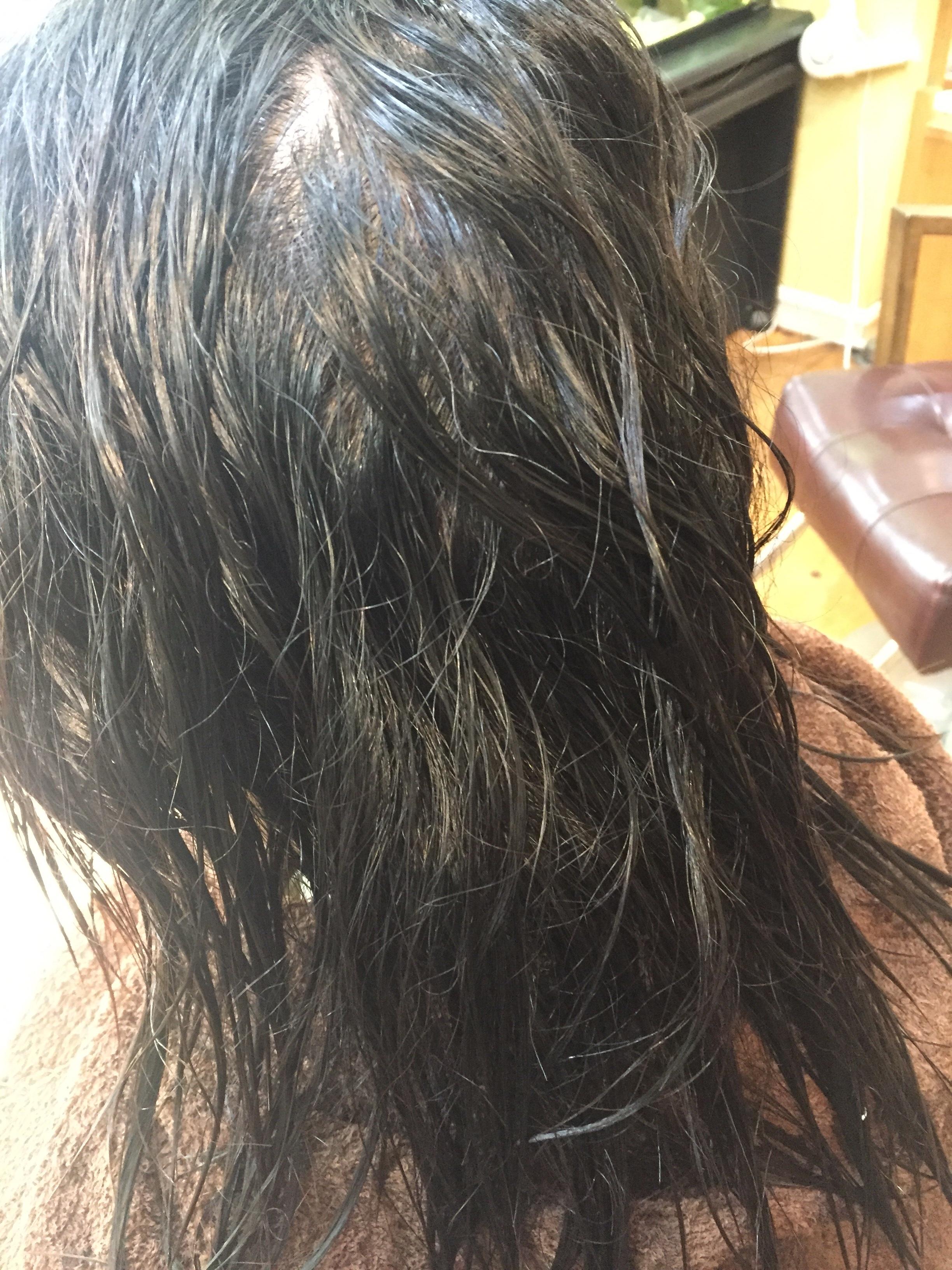 クセ毛のダメージ毛